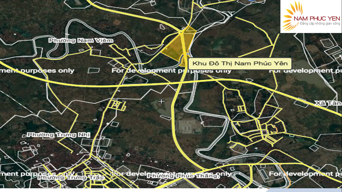 Vị Trí Dự Án Khu Đô Thị Nam Phúc Yên
