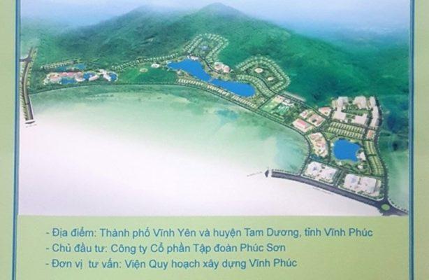 Dự Án Khu Đô Thị Phúc Sơn Luxury Villas