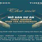 Times Garden Vĩnh Yên Residences Up Date Chính Sách
