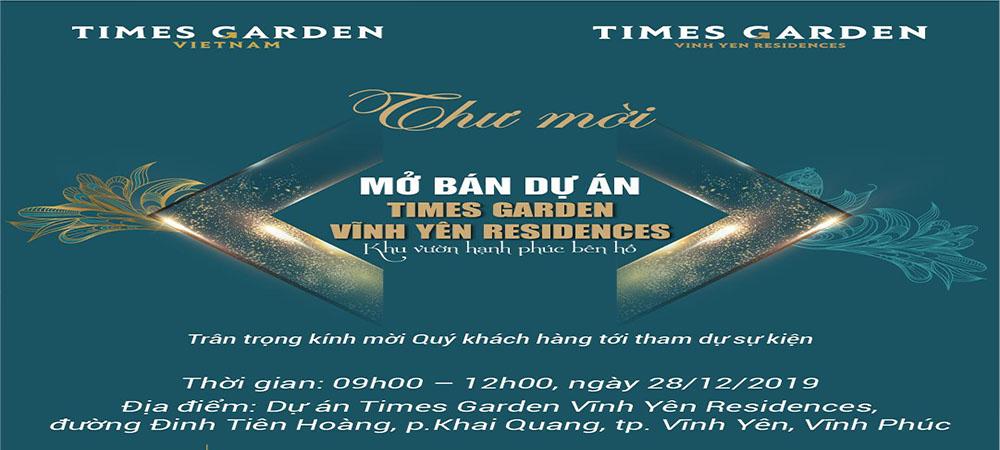 Sự kiện lễ mở bán Times Garden Vĩnh Yên Residences